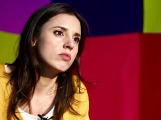 Irene Montero, portavoz del Grupo Confederal Unidos Podemos-En Comú Podem-En Marea en el Congreso, en su vuelta a la política.