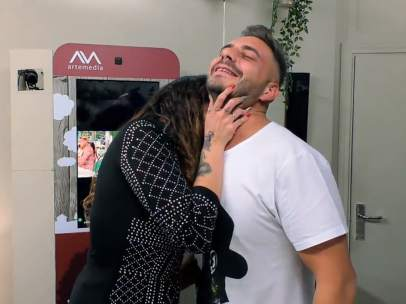 Tamara y Eugenio, en 'First Dates'.