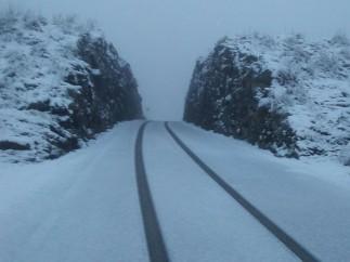 Nieve, Serra de Tramuntana, tiempo