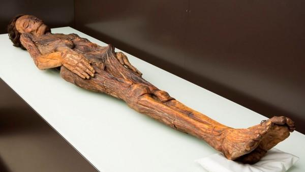 Momia barranco de Herques