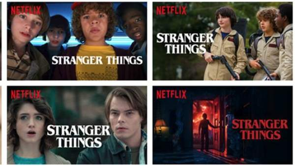 Capturas de 'Stranger Things' de Netflix