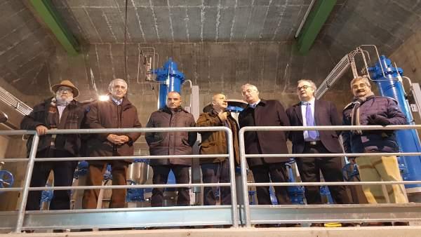 Obra de modernización de regadío de Albalate de Cinca