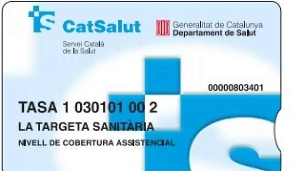 Tarjeta sanitaria CatSalut.
