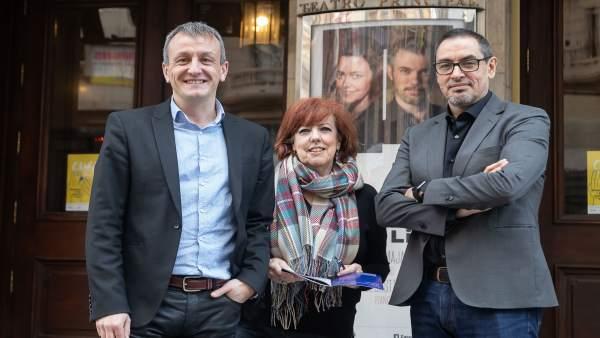 Presentación del III Ciclo Lied en el Teatro Principal de Zaragoza