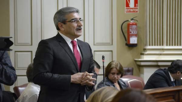 Román Rodríguez, presidente de Nueva Canarias (NC)