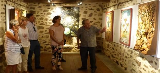 Exposición en Santa María de Melque