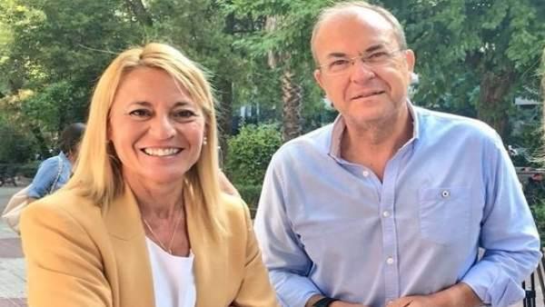 José Antonio Monago y Elena Nevado