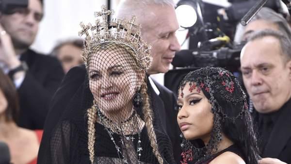 Madonna y Nicki Minaj