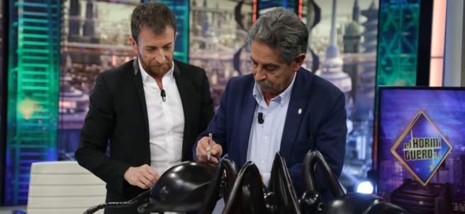 Miguel Ángel Revilla, en 'El hormiguero'.