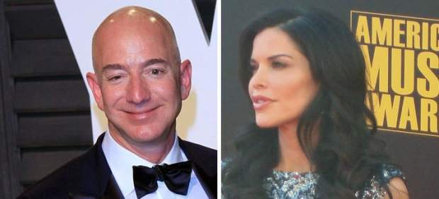 Jeff Bezos y Lauren Sánchez