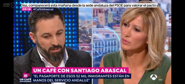Santiago Abascal en Espejo Público