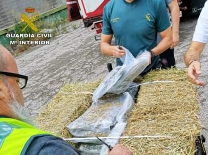 Intervienen en Cataluña 2.700 kilos de marihuana y detienen a 25 personas.