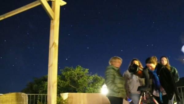Astroturismo en Gúdar
