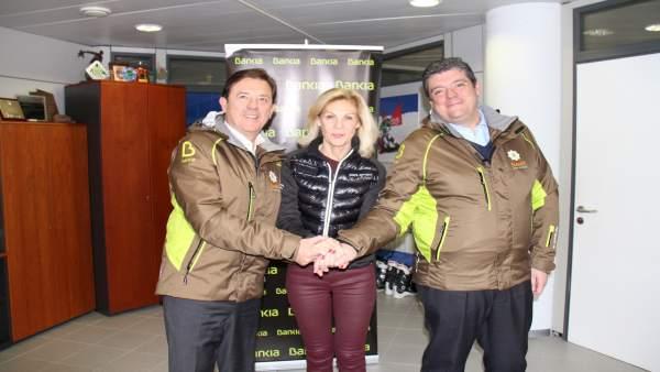 Bankia Colabora Con Cetursa Para Impulsar El Esquí Adaptado Y La Sostenibilidad