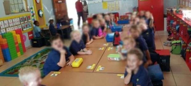 Racismo escuela sudafricana