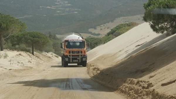 Carretera de la duna de Valdevaqueros