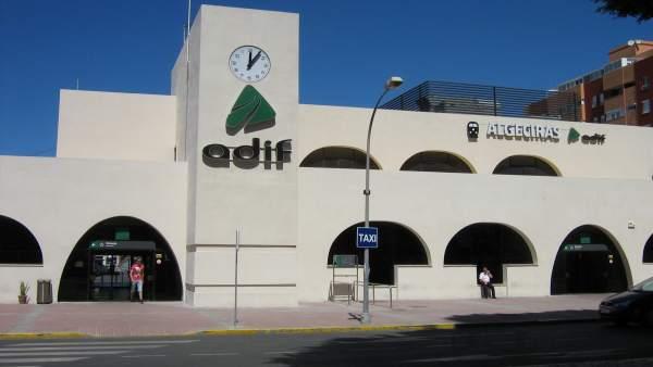Estación de tren de Algeciras
