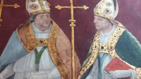 Pinturas de la Sala Capitular realizadas por Juan de Borgoña