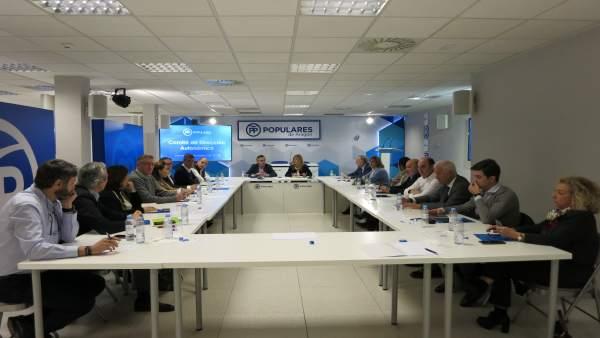 Comité de Dirección del PP Aragón