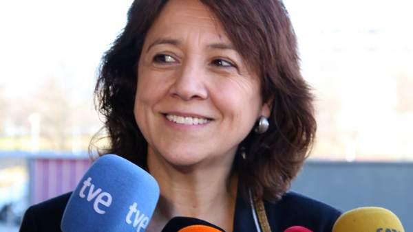Anna Erra, alcaldesa de Vic (Barcelona).