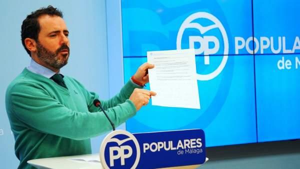 José Ramón Carmona en Rueda de prensa