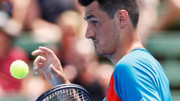 El tenista Bernard Tomic