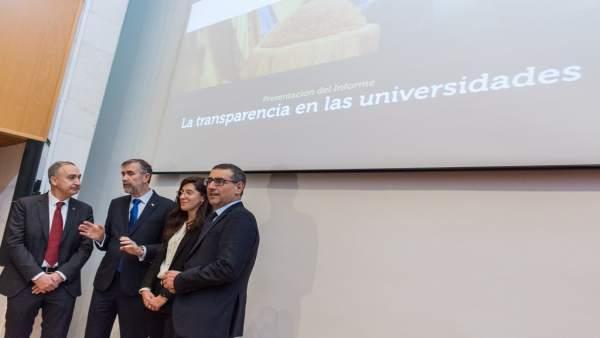 Universidad de Murcia, líder en transparencia