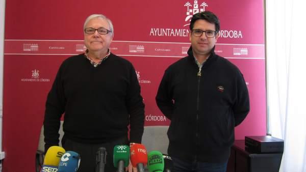 Pedro García y Emilio Aumente