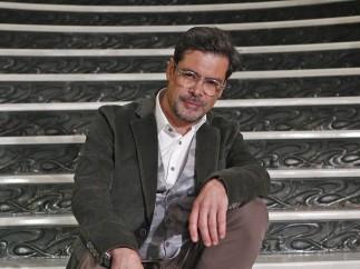 El presidente de la SGAE, el gaitero José Ángel Hevia