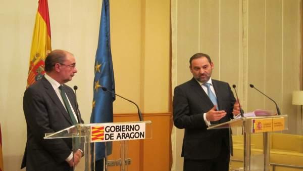 Javier Lambán Y José Luis Ábalos