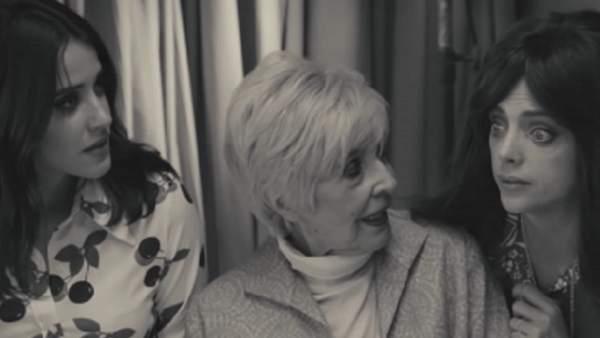 Macarena García, Concha Velasco y Macarena Gómez participan en el segundo spot de los Premios Goya.