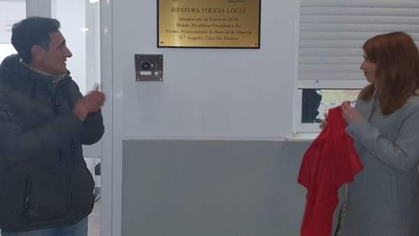 Inauguración de la nueva Jefatura de Policía Local de Huércal de Almería