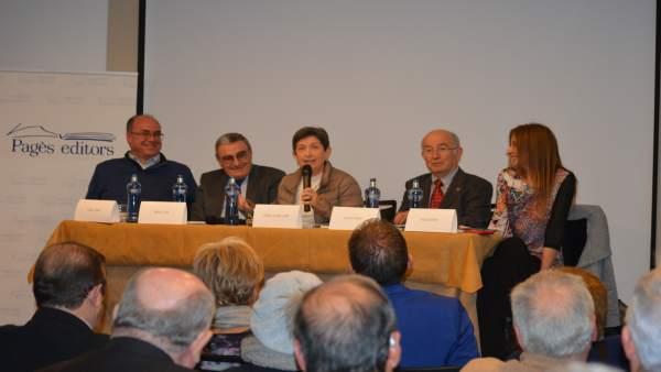 Vidal Vidal, Àngel Ros, Teresa Cunillera, Lluis Pagès, Rosa Peroy