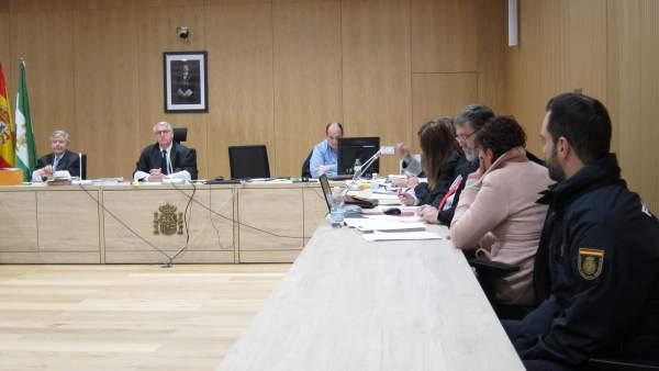 Juicio a la acusada del crimen de la Plaza de la Fuenseca
