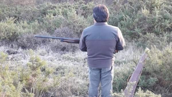 Imagen de un cazador