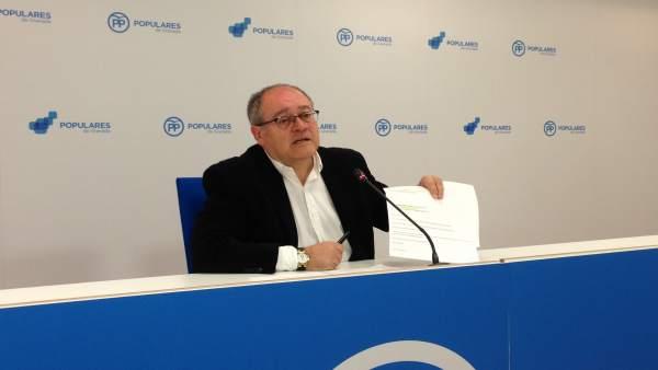 Antonio Ayllón en rueda de prensa