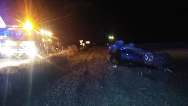 Accidente de tráfico en Conil