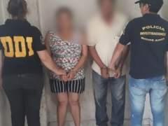 Detenidos en Argentina