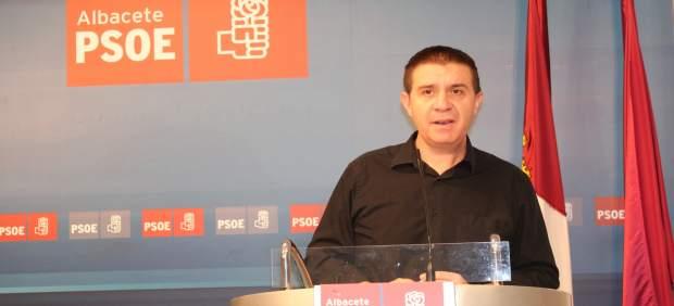 El secretario general del PSOE en Albacete, Santiago Cabañero