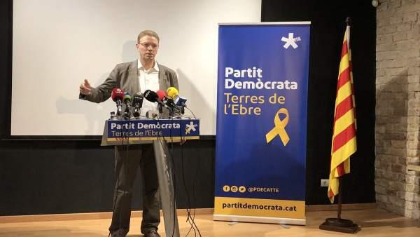 El diputado del PDeCAT en el Congreso Ferran Bel