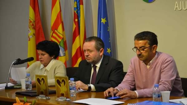 Presentación del encuentro de poesía sobre la discapacidad en Benicàssim