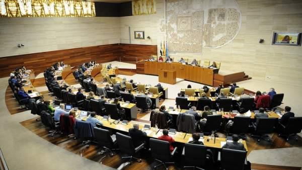 Pleno de la Asamblea, en una imagen de archivo