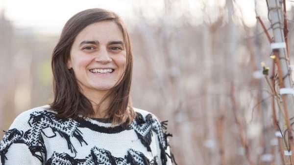 La investigadora Idoia Ariz