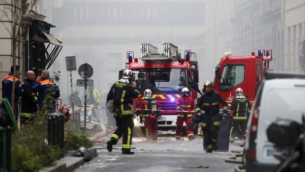 Explosión en París