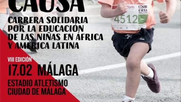 Corre por una causa málaga febrero de 2019  las niñas ONG educación