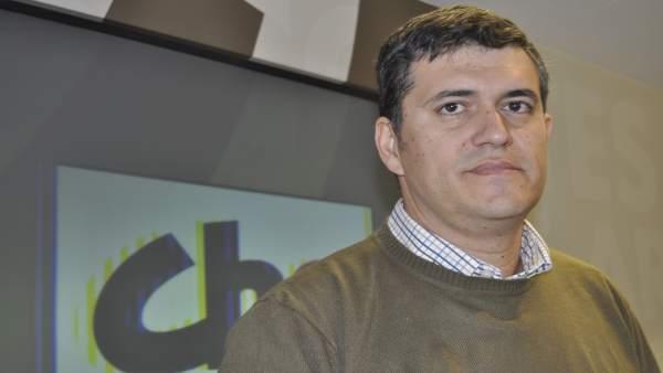 El diputado de CHA Joaquín Palacín.