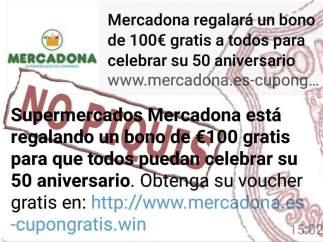 Phishing de Mercadona
