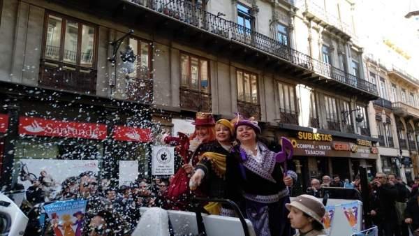 Cabalgata de las Magas de Enero de València