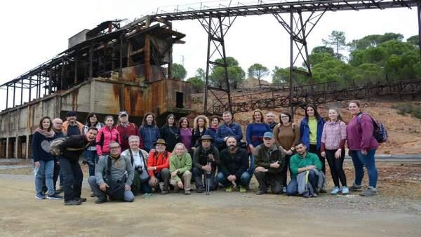 Miembros de la asociación Huelva y sus Fotógrafos
