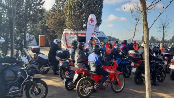 Valladolid.- Voluntarios de Cruz Roja en Pingüinos